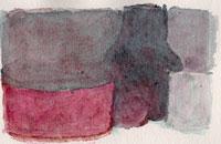 Hollan, Vie silencieuse, aquarelle, 2014, 32x24 cm