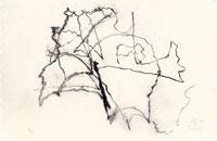 hollan, fusain sur papier 2, 2012, 16 x 24 cm
