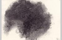 Hollan ,fusain sur papier7, 2012, 16 x 24 cm