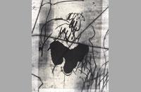 Pointe sèche sur chine collé, 43.5x53.5 cm,2001