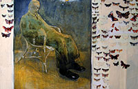 Pierre Bonnard, acrylique sur toile, 2014, 92 x 73 cm