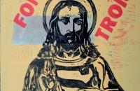 Dieu et Dieu font trois, gravure sur bois