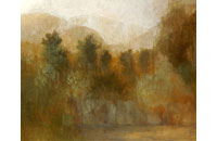 paysage Ardèche 30F 73X92cm