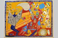 Les misérables affaires, dessin et collage sur papie, 51.5 x62 cm, 2014