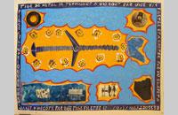 Les misérables affaires, dessin et collage sur papier, 51.5 x62 cm, 2014