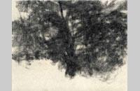 Félix Stundika, sans titre, fusain sur papier d \'ingres, 23.5x30cm, 2014