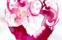 Choeur, dessin-encre 21x29,7cm, 2016