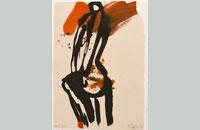 Francine Simonin, Gogo girl, 1986, encre, 38.5 x28.5 cm
