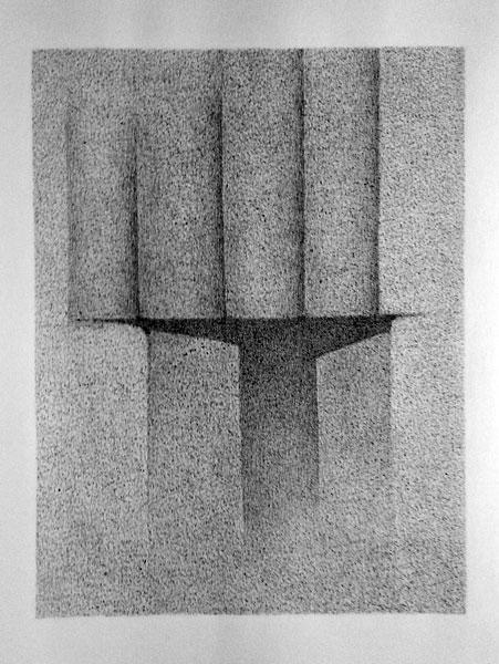 Wolf D4, 60 65 x50cm, 2015
