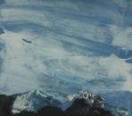 Paysage-pensées IX 41,5 x 47 cm