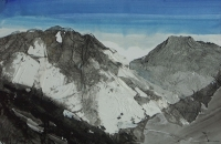 Panorama imaginaire II 38,5 x 58,5 cm