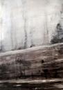 """""""Les fantômes"""", encre et fusain, 50x70cm, 2017"""