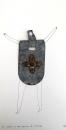 Le croisé et son armure de certitude, 2009, 38x19,5cm