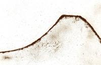 Lanzarotte 3, ligne de crête,46 x 38 cm