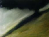 L'ombre, huile sur toile, 54 x 80 cm, 2017