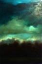 La haie, huile sur toile, 80 x 54 cm, 2017