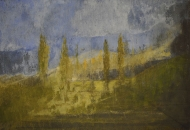 Paysage, 65x92cm, 2018