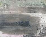 Ma vie est un roman, 2018, laque sur toile, 50 x 70 cm