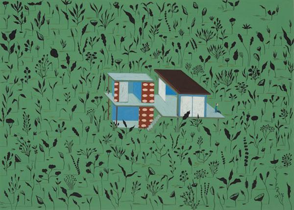 Gouache sur papier, 2019, 46,2 x 63 cm