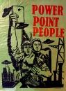 Power point people gravure sur papier industriel, 2019, 88,5x 66,5 cm