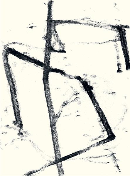 FelixSaFélix Studinka - Chestnut Journal p.50, fusain sur papier, 29,7 x 21 cmtudinka_ChestnutJournal_50_HIGH_CMYK_Pressebild
