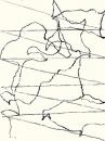 Félix Studinka - Chestnut Journal p.199, fusain sur papier, 29,7 x 21 cm