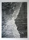 Sans titre, 2019, monotype sur papier, 94,5 x 68,5 cm