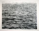 Sans titre, 2019, monotype sur papier, 56,5 x 73,2 cm