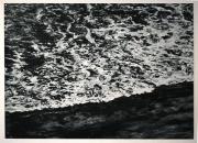 Sans titre, 2019, monotype sur papier, 70 x 97 cm