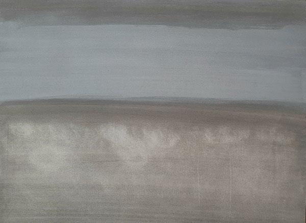 Sans titre , aquarelle sur papier, 56.5x76.5 cm
