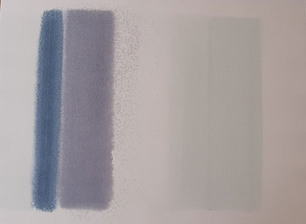 Sans titre , aquarelle sur papier, 56.7x75.8 cm