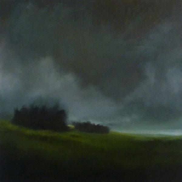 La prairie, 70x70cm, 2020