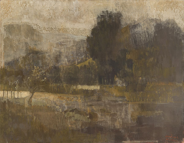 Paysage-de-la-Loue-2020-tempera-sur-toile-114-x-146-cm
