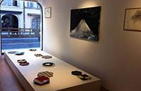 Exposition JAPON - Accrochage à la galerie LIGNE Treize