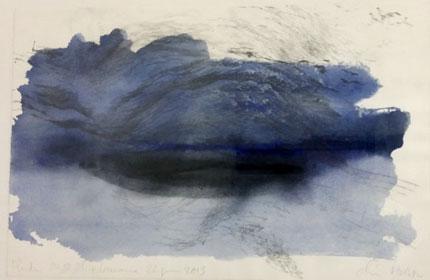 Aquarelle sur velin d\'arches, 33x50cm