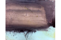 Pluie sur l \'Hudson, huile sur toile 80 x120cm