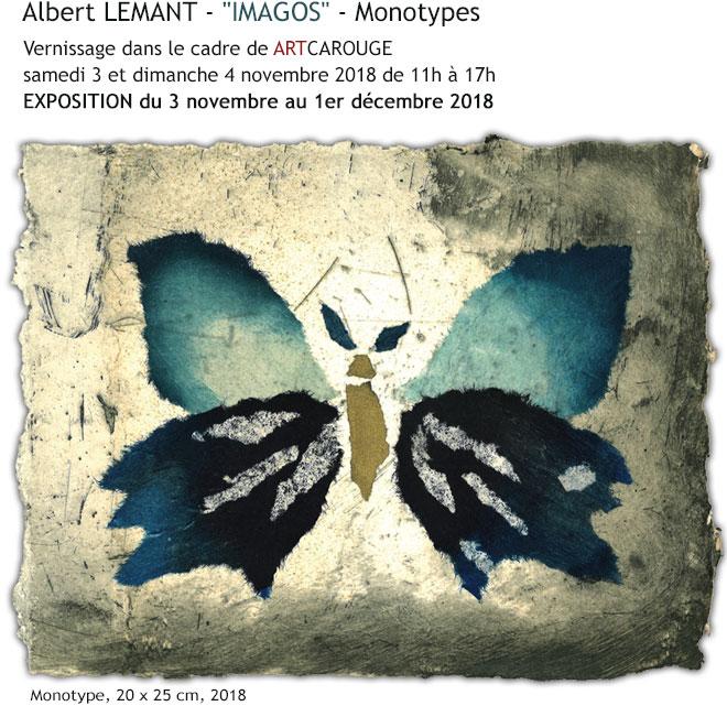 Albert LEMANT - Exposition à la galerie LIGNE 13