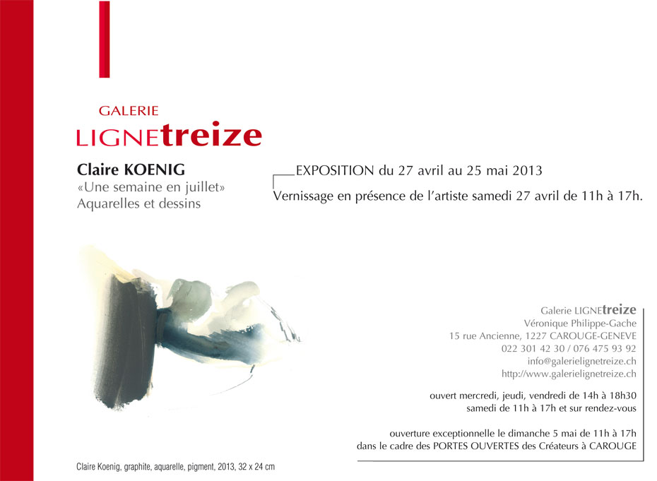 Exposition Claire Koenig