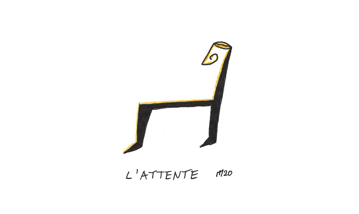 L'attente - Marcel Miracle